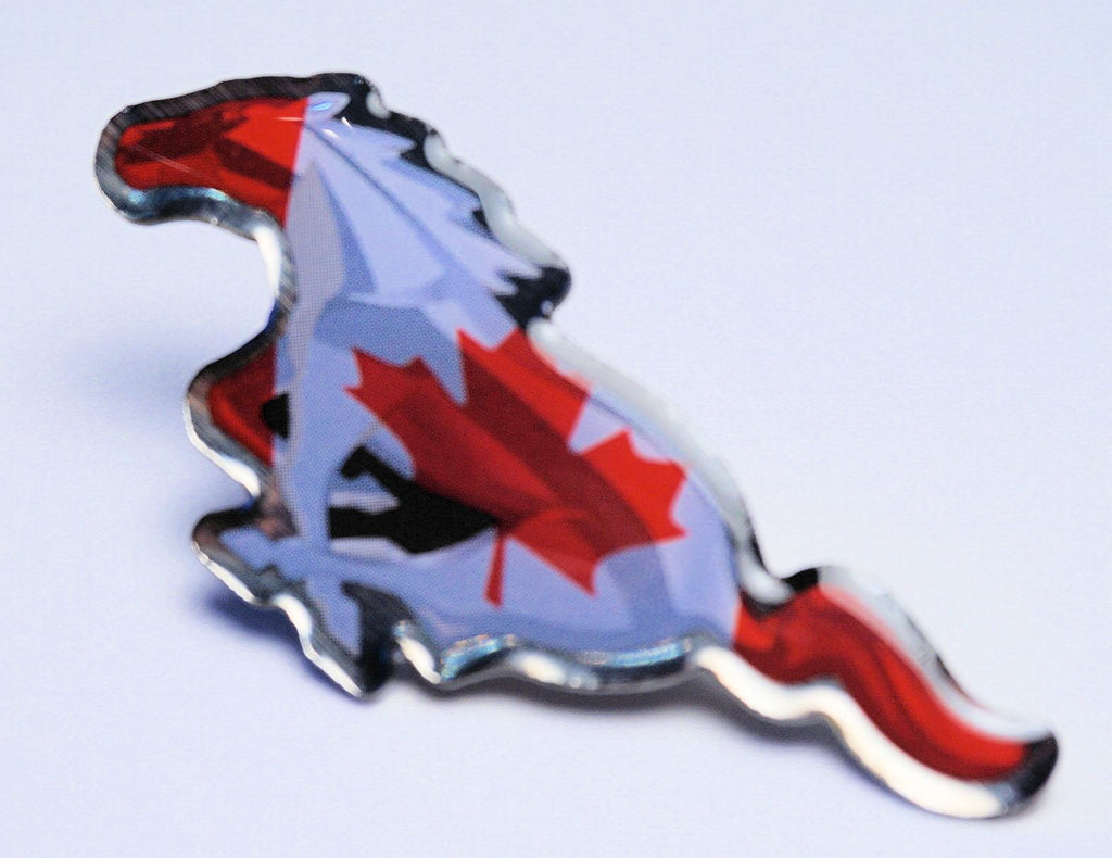 SEMA 2014 Mustang International Canadian Hat Pin