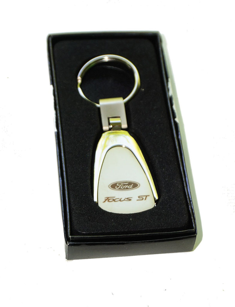 Ford Focus st teardrop keychain