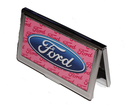 Ford business card holder pink