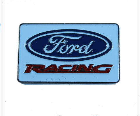Ford racing rectangular pin