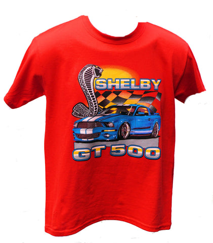 Shelby GT500 kids shirt with tiffany snake