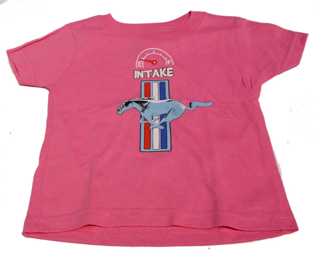 Ford Mustang infant shirt in pink
