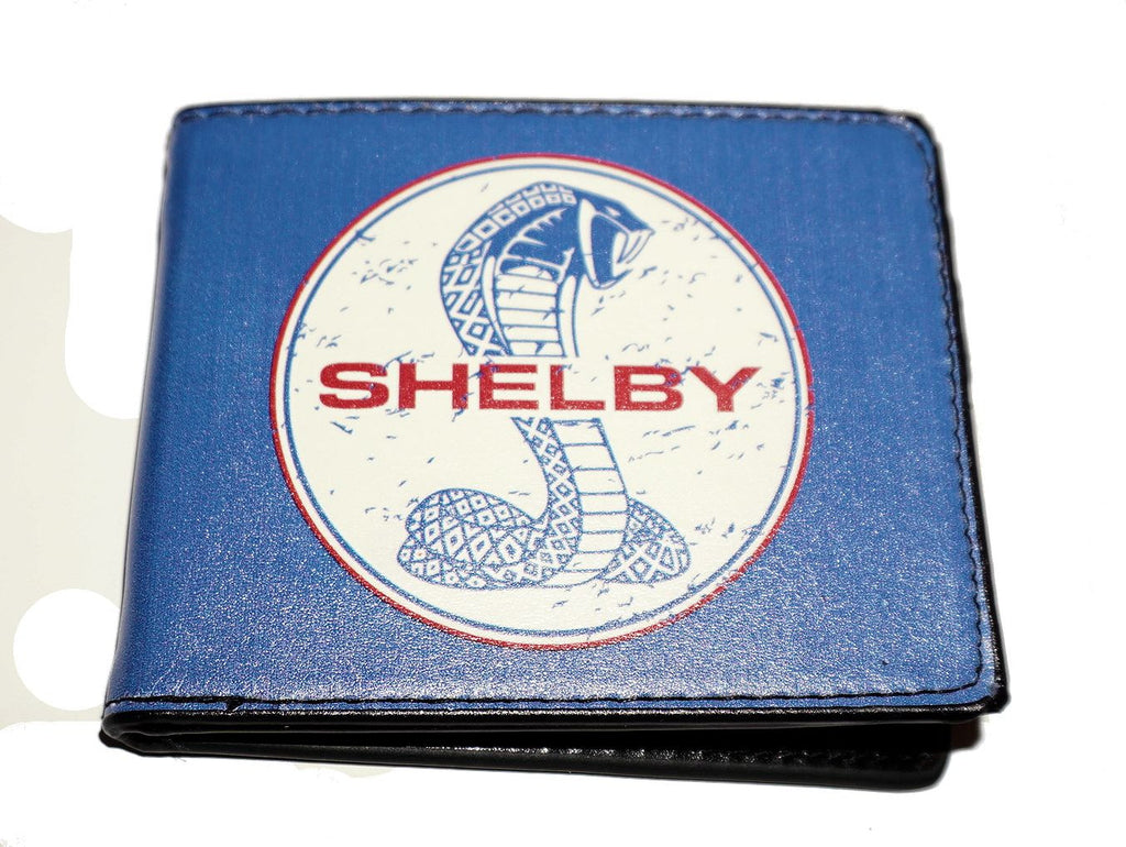Shelby bi-fold wallet with old style logo