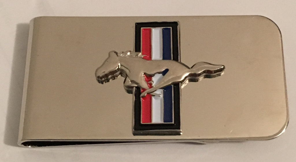 Mustang Money Clip