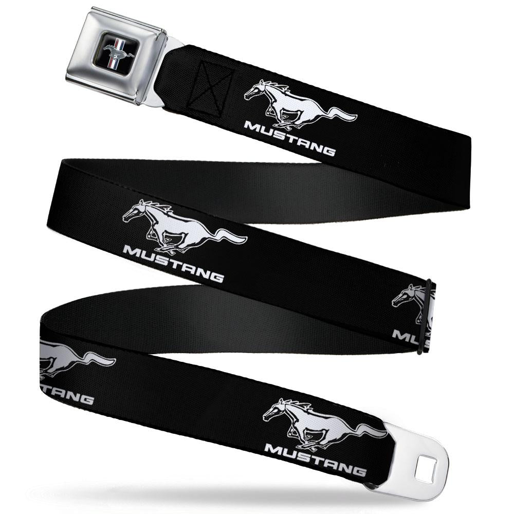 Ford Mustang Seatbelt Belt with running horse logo