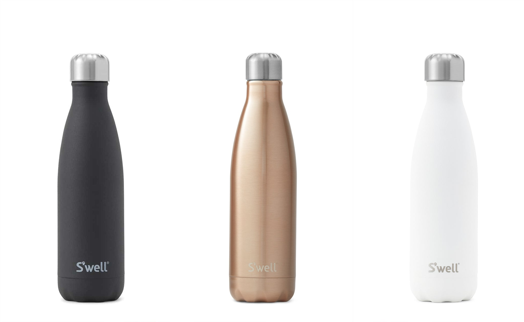 7. Reusable S'well drink bottle, stainless steel and insulated