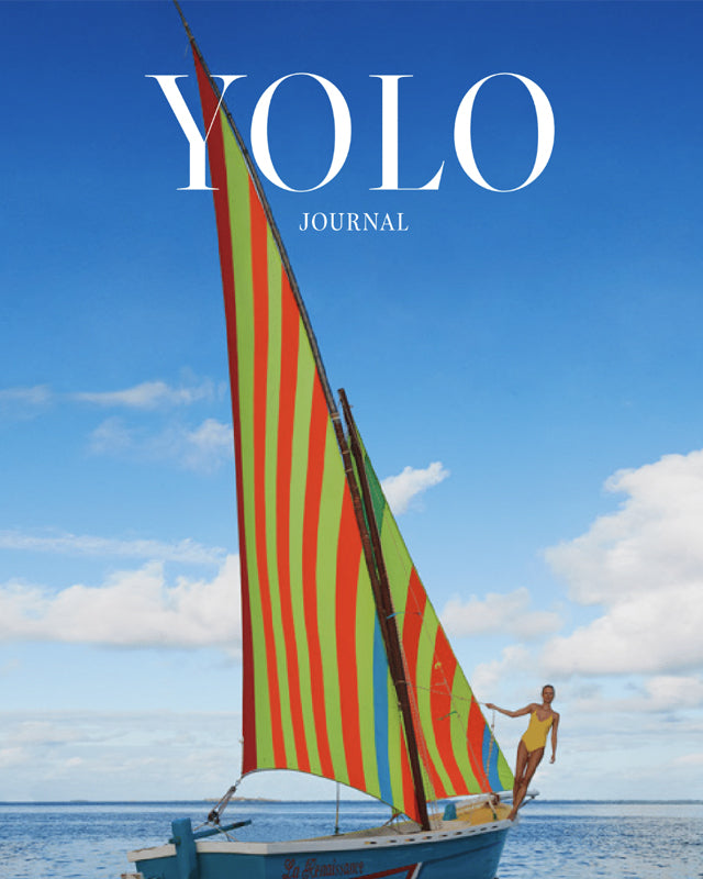 Editorial cover for YOLO Journal