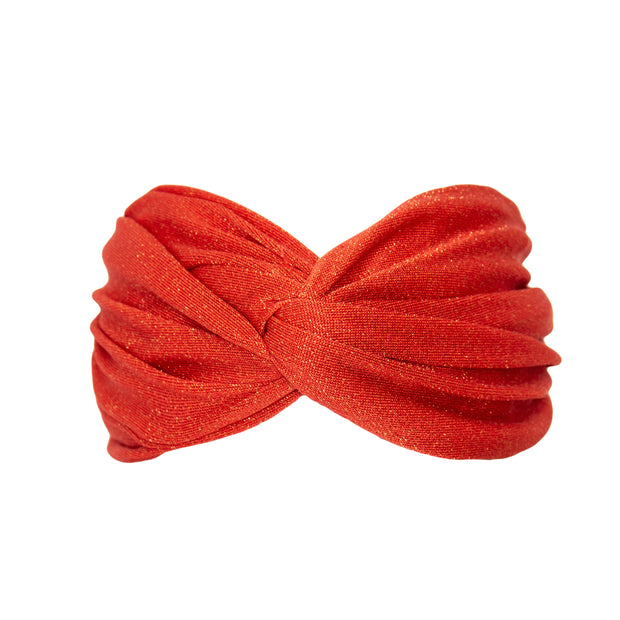Nova Headband in Campari