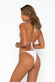 MILLA Bianco - Tie Side Bikini Bottoms