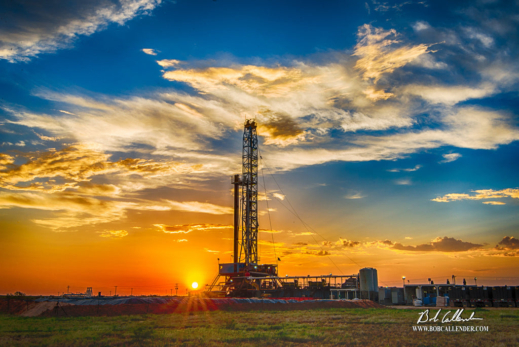 Changing Colors Artist: Bob Callender - Bob Callender Fine Art oil and gas art