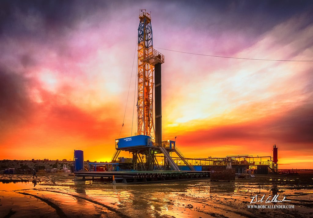 Day Dream Artist: Bob Callender - Bob Callender Fine Art oil and gas art