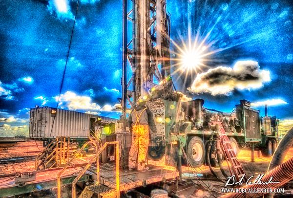 Integrity Oil 7 - Bob Callender Fine Art oil and gas art