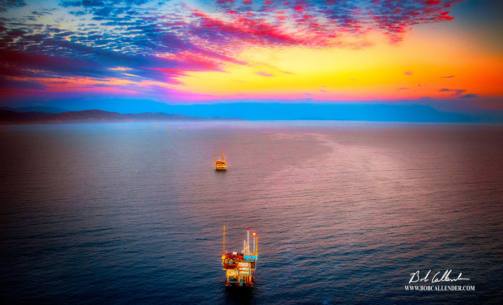 Jewels of the Offshore Artist: Bob Callender - Bob Callender Fine Art oil and gas art