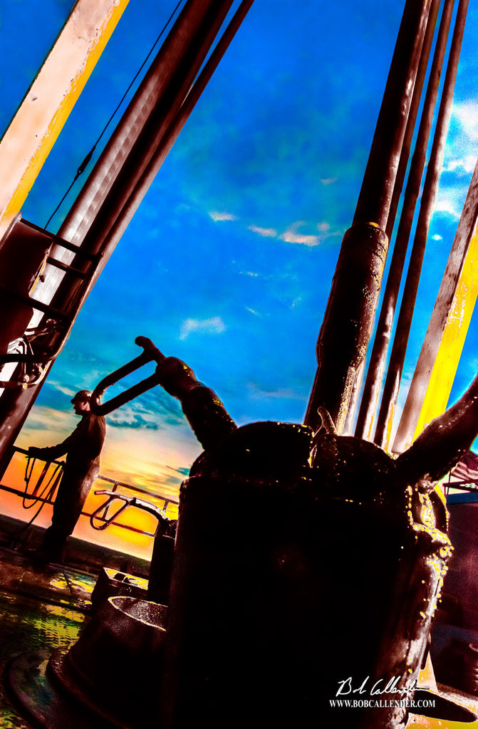 Living the Dream Artist: Bob Callender - Bob Callender Fine Art oil and gas art