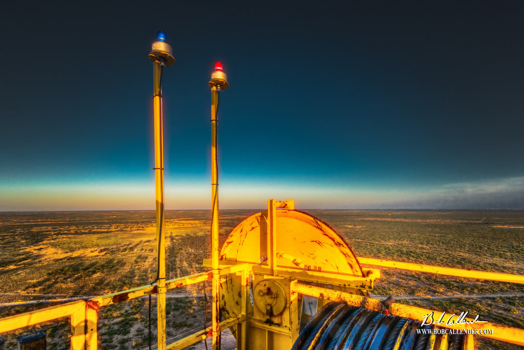 On Top of the World Artist: Bob Callender - Bob Callender Fine Art oil and gas art