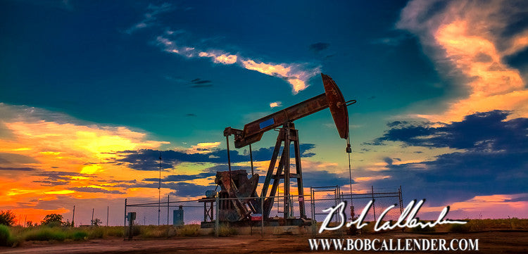 Placidity Artist: Bob Callender - Bob Callender Fine Art oil and gas art