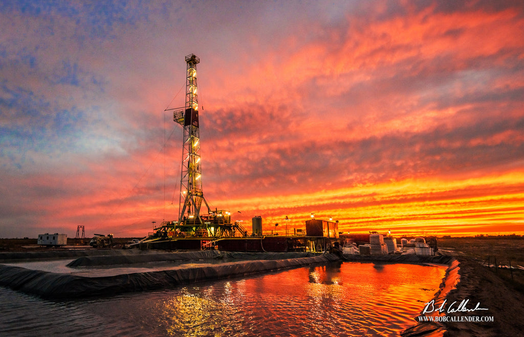 Reflections from a Viking Artist: Bob Callender - Bob Callender Fine Art oil and gas art