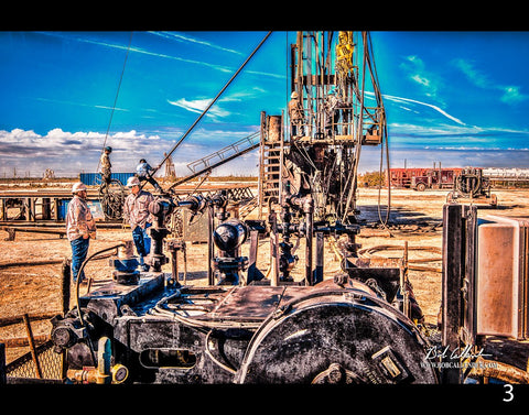 Wildcat 3by Bob Callender - Bob Callender Fine Art oil and gas art
