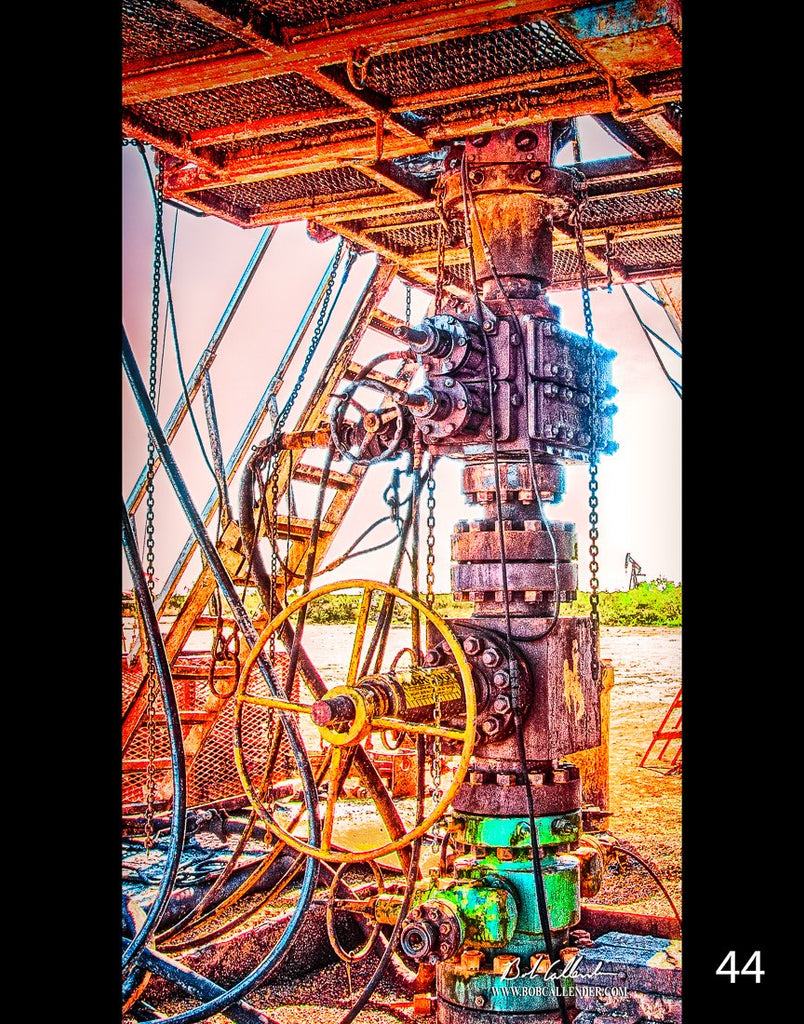 Wildcat 44by Bob Callender - Bob Callender Fine Art oil and gas art