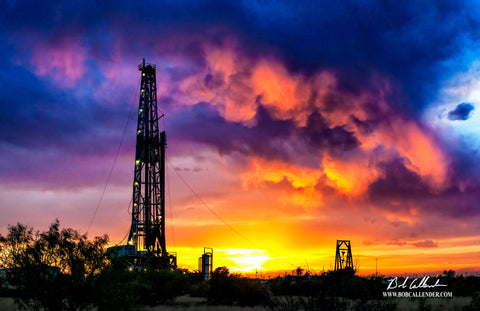 American Oil - Bob Callender Fine Art oil and gas art