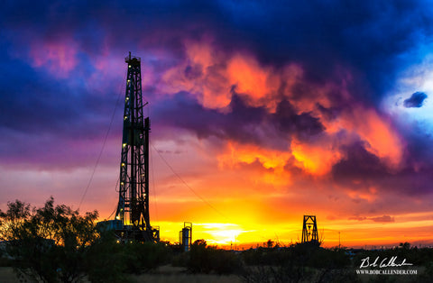American Oil Top - Bob Callender Fine Art oil and gas art