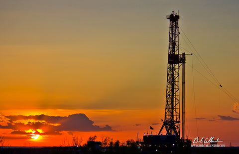 Beauty of West Texas 2 Artist: Bob Callender - Bob Callender Fine Art oil and gas art