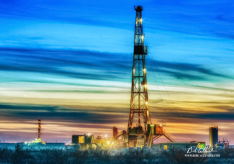 Brilliance Artist: Bob Callender - Bob Callender Fine Art oil and gas art