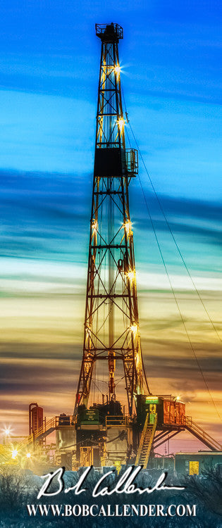 Brilliance II - Bob Callender Fine Art oil and gas art