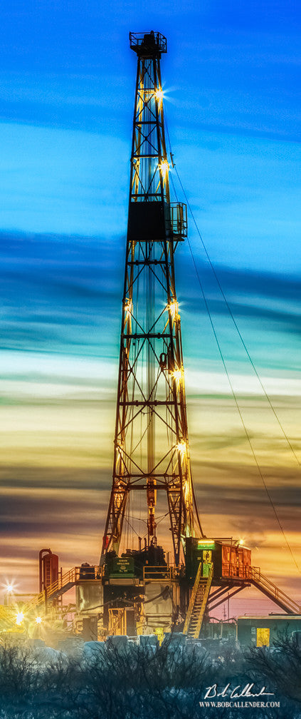 Brilliance II Top - Bob Callender Fine Art oil and gas art