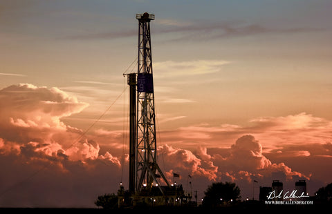 Dare to Dream by Bob Callender - Bob Callender Fine Art oil and gas art