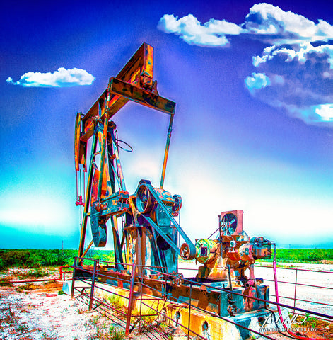 Enduring by Bob Callender - Bob Callender Fine Art oil and gas art