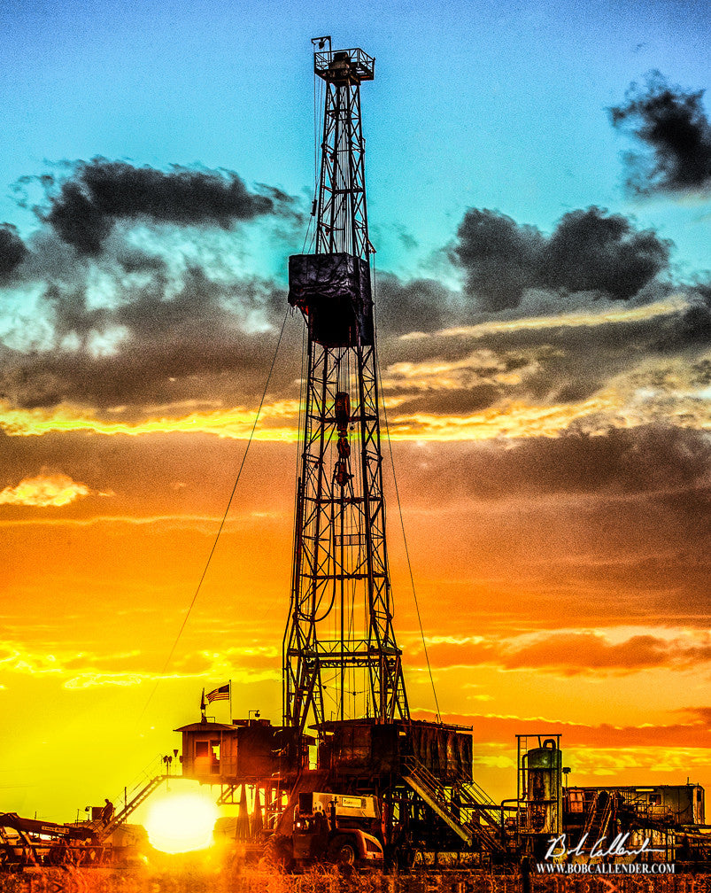 The Venture - Bob Callender Fine Art oil and gas art