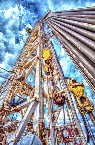 To the Top Artist: Bob Callender - Bob Callender Fine Art oil and gas art