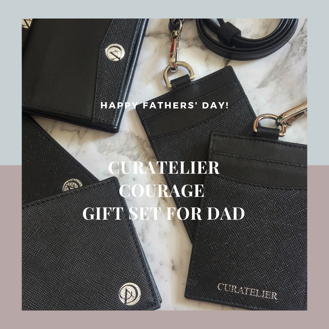 "Curatelier Happy Fathers' Day ""COURAGE"" Gift Set For Dad"