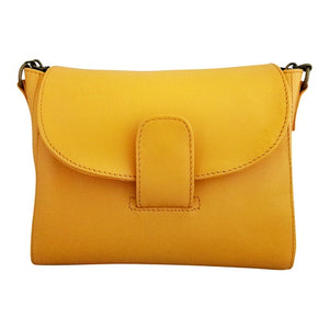 Velle Dazzler Crossbody Smooth Genuine Leather Bag with Adjustable Strap (More Colours Available)