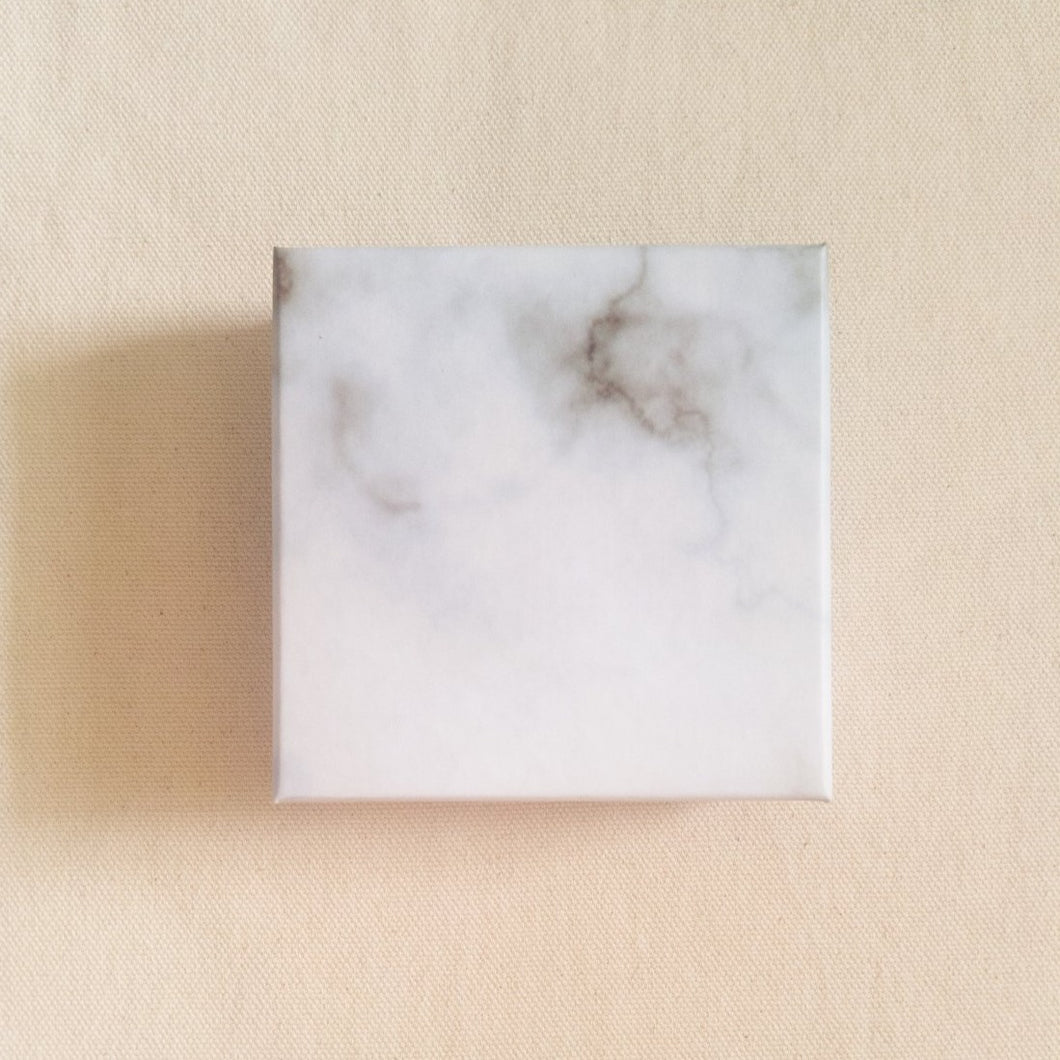 Curatelier Marble Print Gift Box