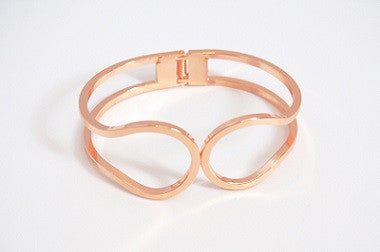 IOTC Endless Time Bangle in Rose Gold (Front View)