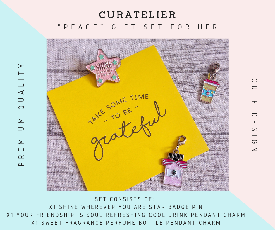 "Curatelier ""PEACE"" Gift Set For Her"
