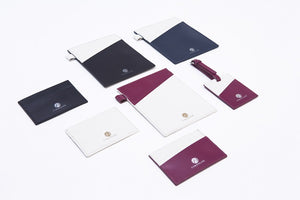 Curatelier Travel Light Genuine Cowhide Leather Cardholder (More Colours Available)