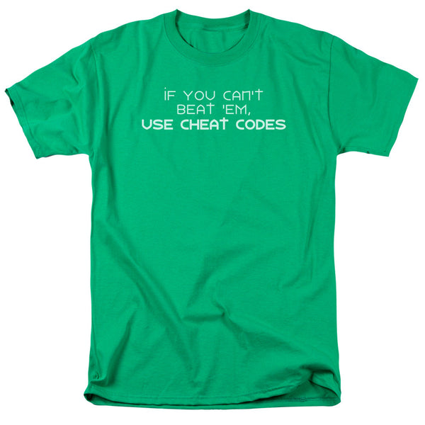 Gaming Cheat Codes Adult Tee