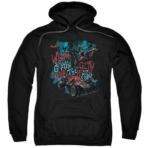 Batman CITY OF FEAR Adult Hoodie