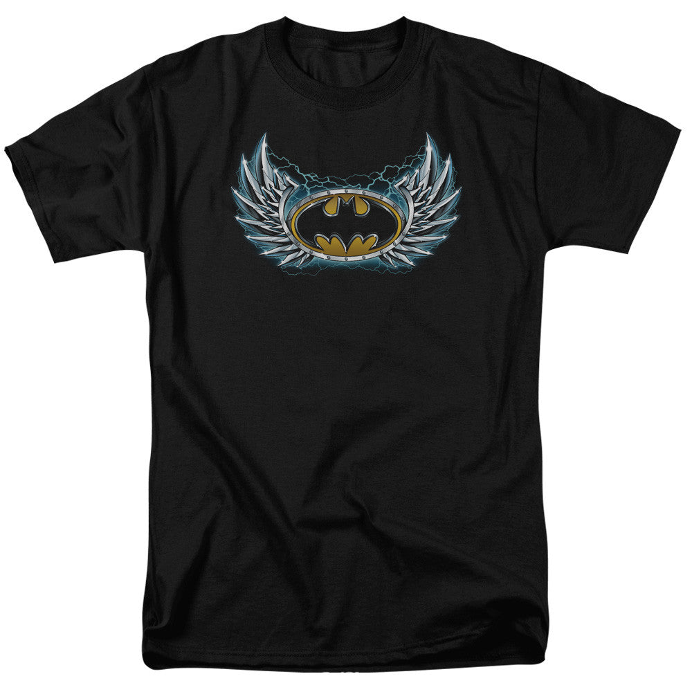 Batman Steel Wings Adult Tee