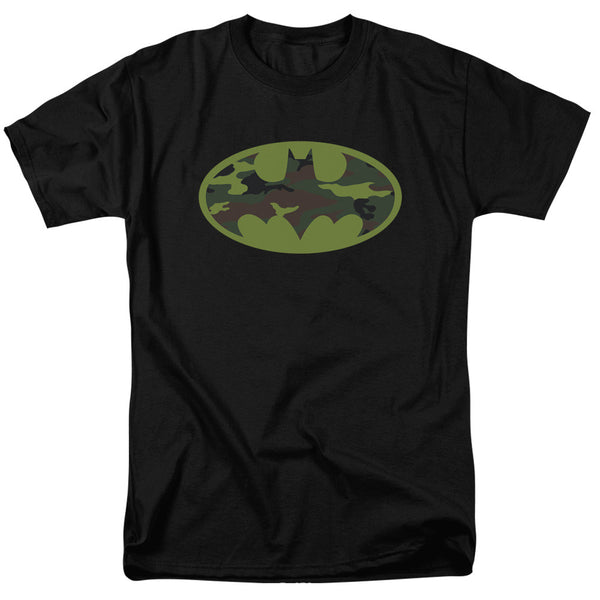 Batman Camo Logo Adult Tee