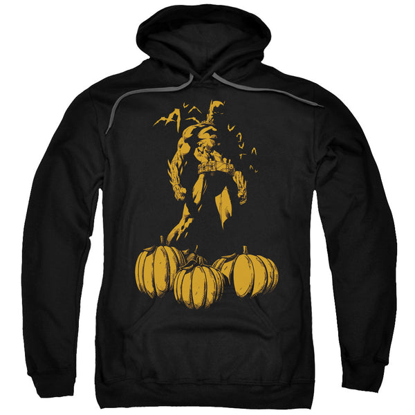 Batman A Bat Among Pumpkins Adult Hoodie