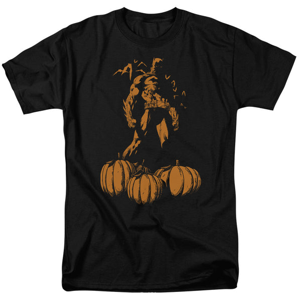 Batman A Bat Among Pumpkins Adult Tee
