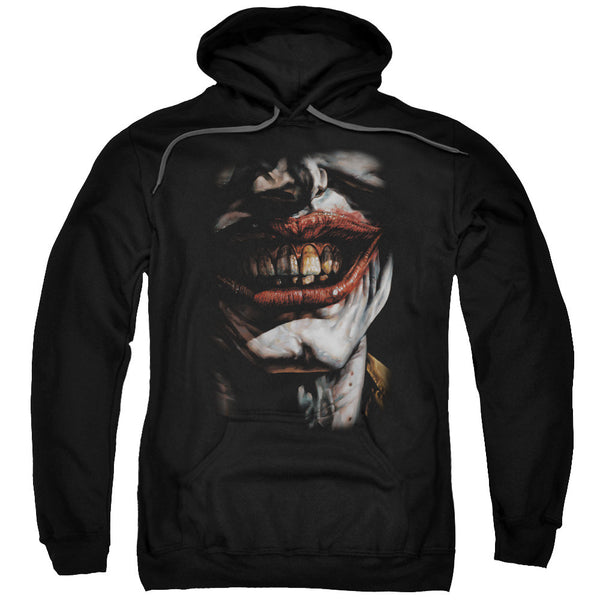 Joker Smile of Evil Adult Hoodie