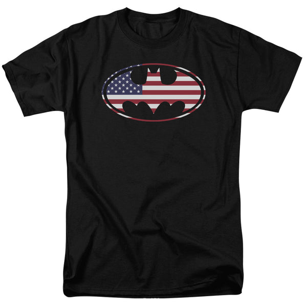 Batman American Flag Adult Tee