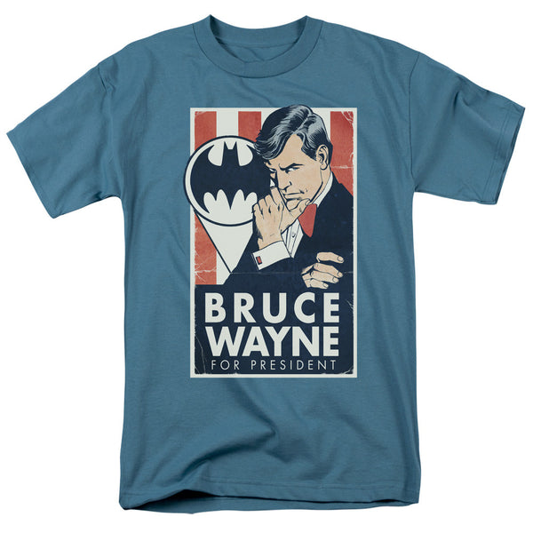 Batman Wayne For President Adult Tee