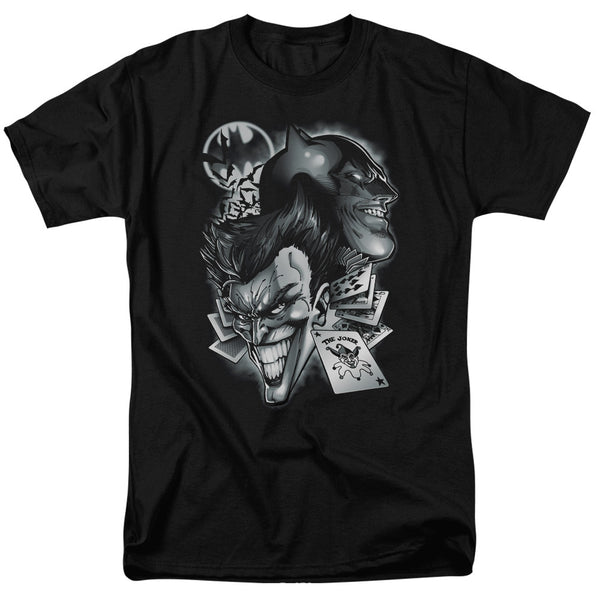 Batman/Joker Archenemies Adult Tee