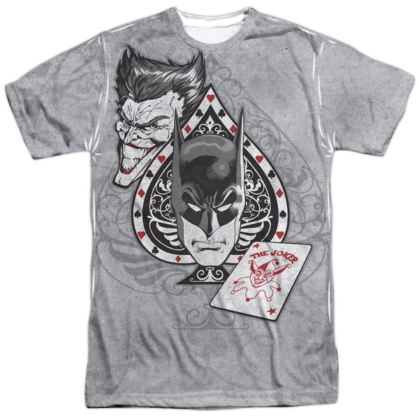 Batman/Joker Ace Adult Tee - Front Print Only